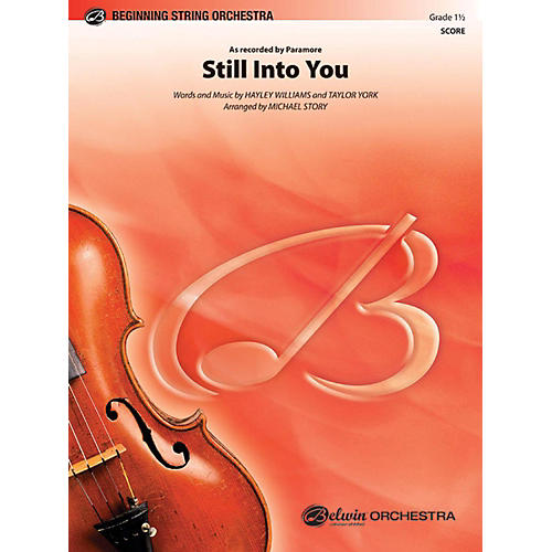 Alfred Still Into You String Orchestra Grade 1.5-thumbnail