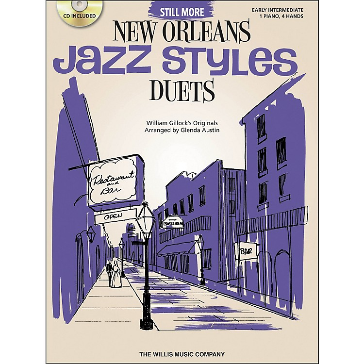 Willis MusicStill More New Orleans Jazz Styles - Piano Duets (Early Intermediate 1 Piano 4 Hands) Book/CD by Glenda Austin