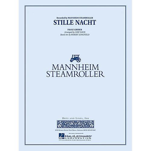 Mannheim Steamroller Stille Nacht Concert Band Level 3-4 by Mannheim Steamroller Arranged by Robert Longfield-thumbnail