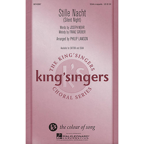 Hal Leonard Stille Nacht (SSAA a cappella) SSAA A Cappella arranged by Philip Lawson-thumbnail