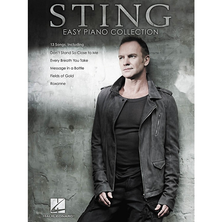 Hal Leonard Sting - Easy Piano Collection