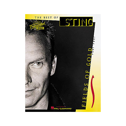 Hal Leonard Sting - Fields of Gold Book