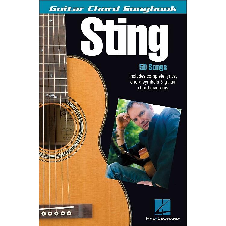Hal LeonardSting - Guitar Chord Songbook