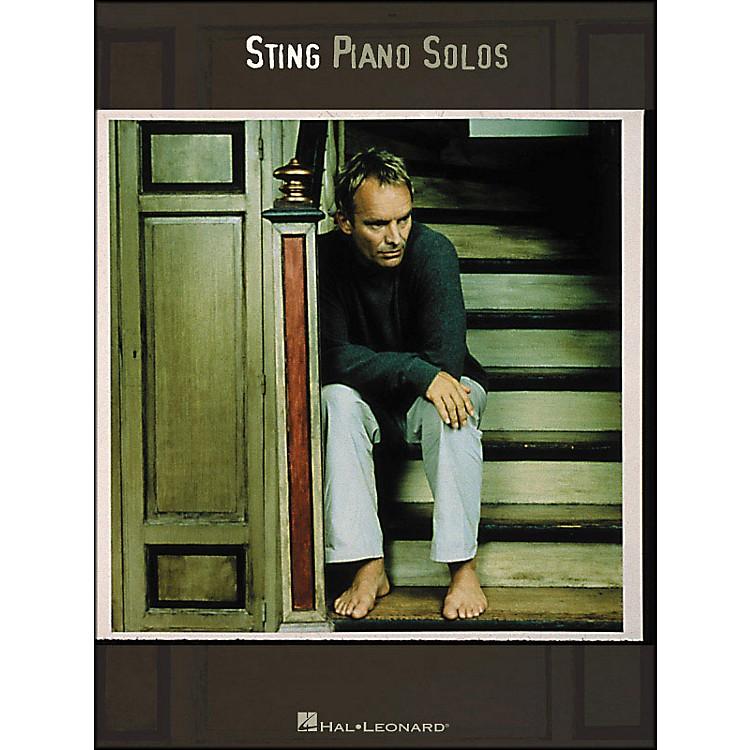 Hal LeonardSting Piano Solos