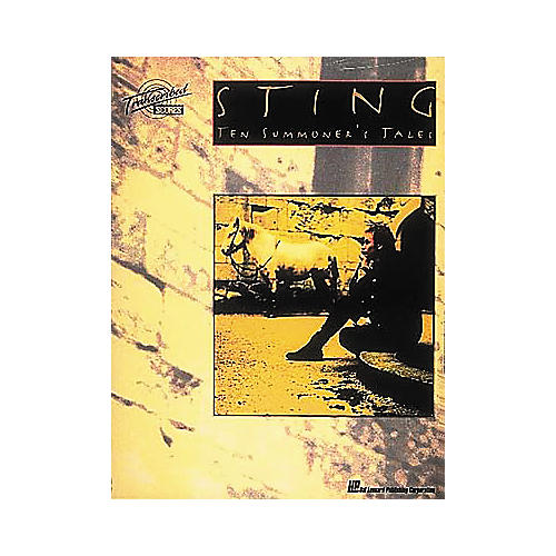 Hal Leonard Sting Ten Summoner's Tales Transcribed Scores Book