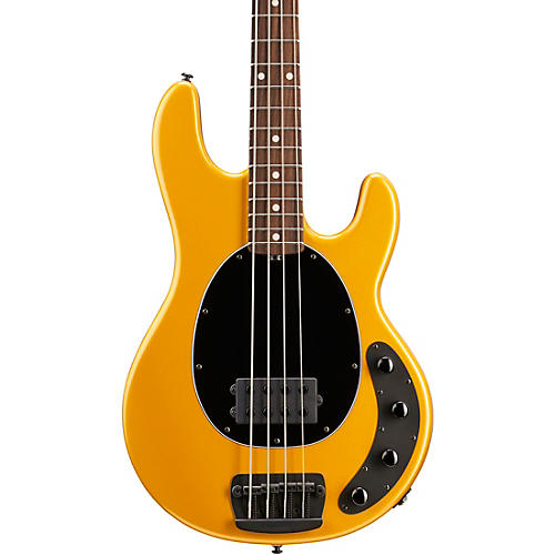 ernie ball music man stingray 4 h electric bass guitar with rosewood fingerboard firemist gold. Black Bedroom Furniture Sets. Home Design Ideas