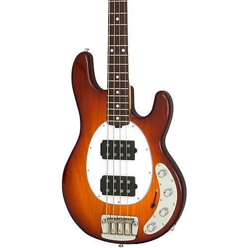 Ernie Ball Music Man StingRay HH 4-String Bass Honey Burst Rosewood Fretboard