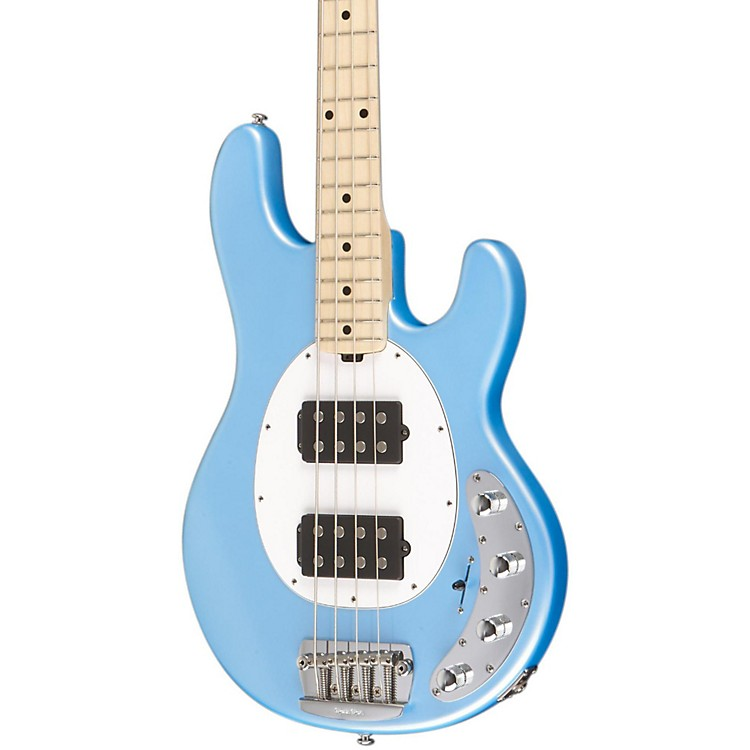 Music Man StingRay HH 4-String Bass Sky Blue Maple Fretboard
