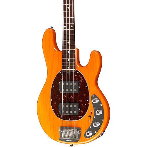 Ernie Ball Music Man StingRay HH 4-String Bass Transparent Gold Rosewood Fretboard