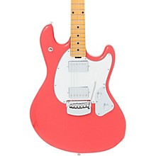 StingRay Trem Electric Guitar Coral Red