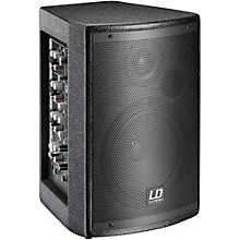 LD Systems Stinger Mix 6 A G2 Powered 2-Way PA Speaker with Integrated 4 -Channel Mixer Level 1