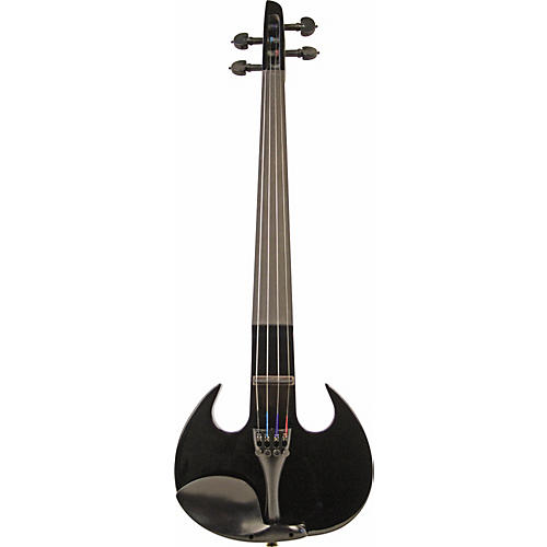 Wood Violins Stingray SV-4 Violin Gloss Black Outfit