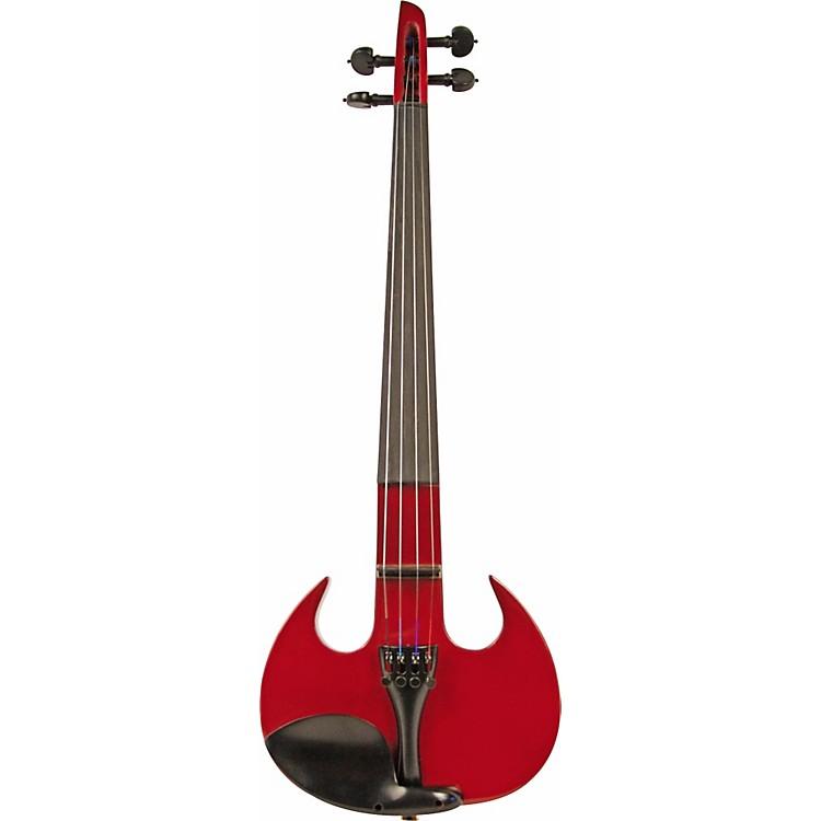 Wood ViolinsStingray SV-4 Violin Red Sparkle Outfit