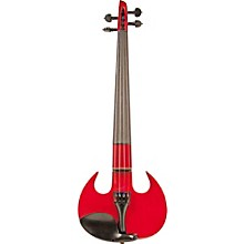 Wood Violins Stingray SV Series Electric Violin 4-String Metallic Red