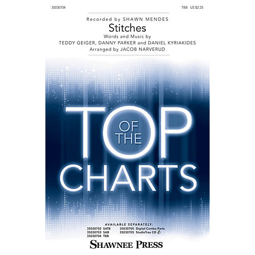 Shawnee Press Stitches TBB by Shawn Mendes arranged by Jacob Narverud-thumbnail