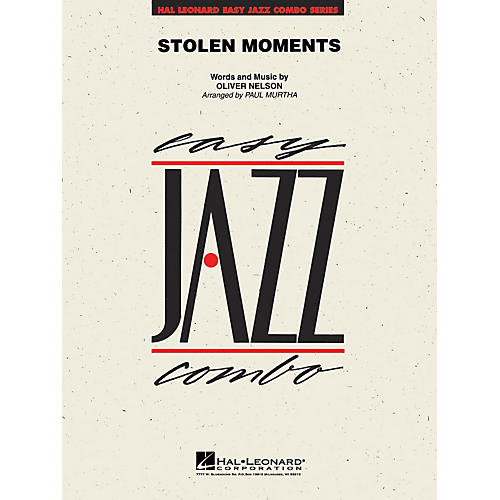 Hal Leonard Stolen Moments Jazz Band Level 2 Arranged by Paul Murtha-thumbnail