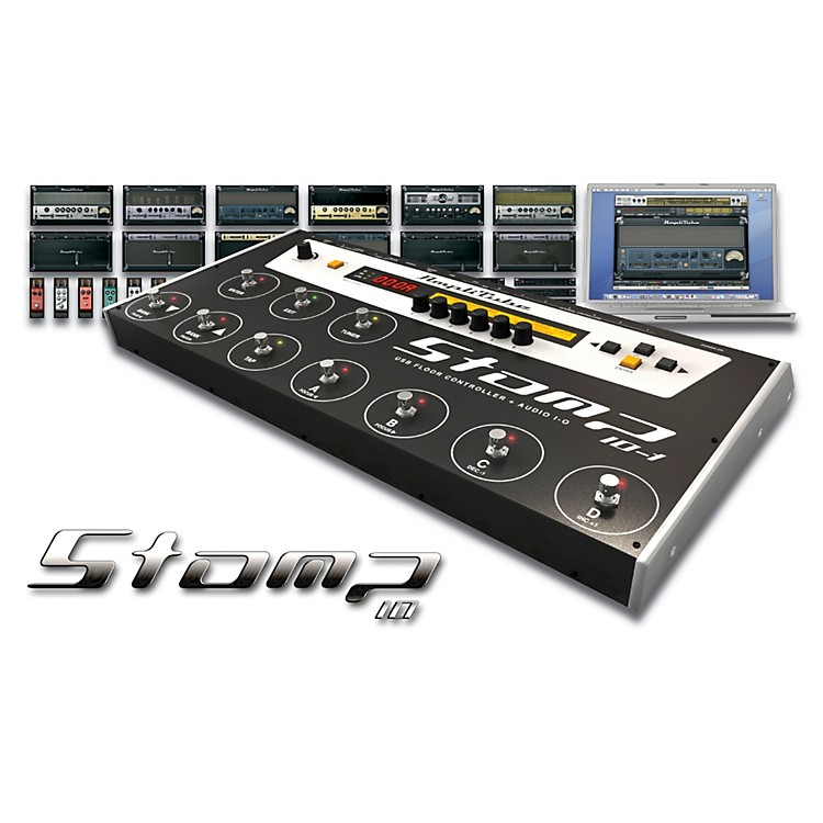 IK Multimedia StompIO Amplitube Stage Controller And Audio Interface