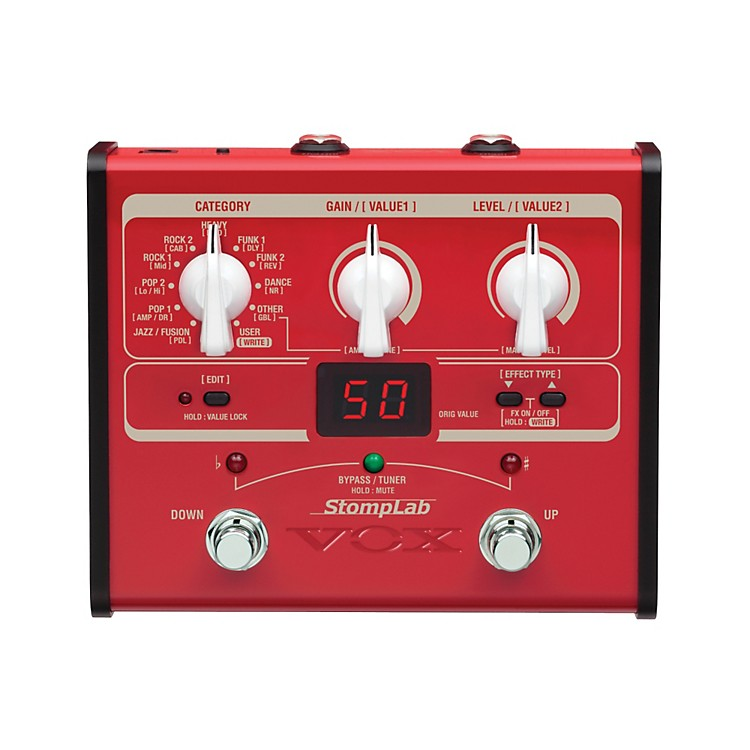 VoxStompLab IB Modeling Bass Effect Processor