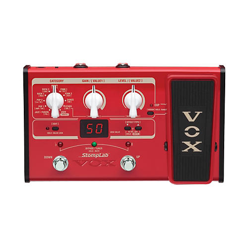 Vox StompLab IIB Modeling Bass Effect Processor