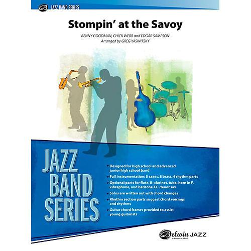 Alfred Stompin' at the Savoy Jazz Band Grade 3.5