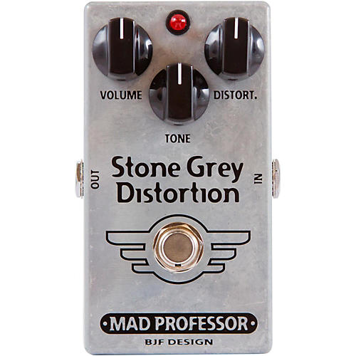 Mad Professor Stone Grey Distortion Guitar Effects Pedal