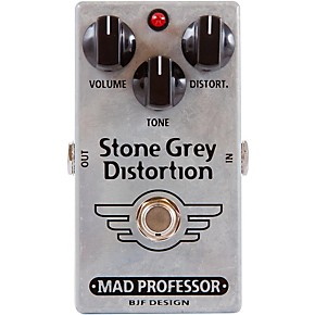 mad professor stone grey distortion guitar effects pedal musician 39 s friend. Black Bedroom Furniture Sets. Home Design Ideas