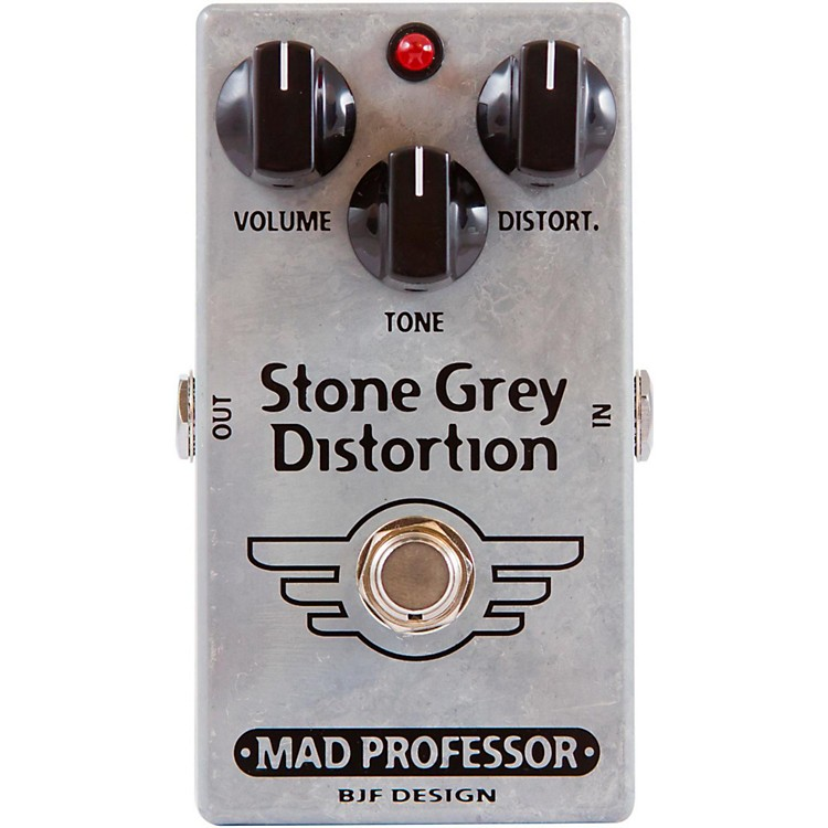 Mad ProfessorStone Grey Distortion Guitar Effects Pedal