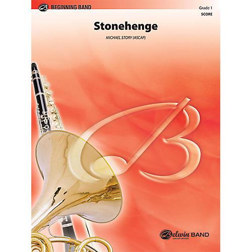 Alfred Stonehenge Concert Band Grade 1 Set-thumbnail