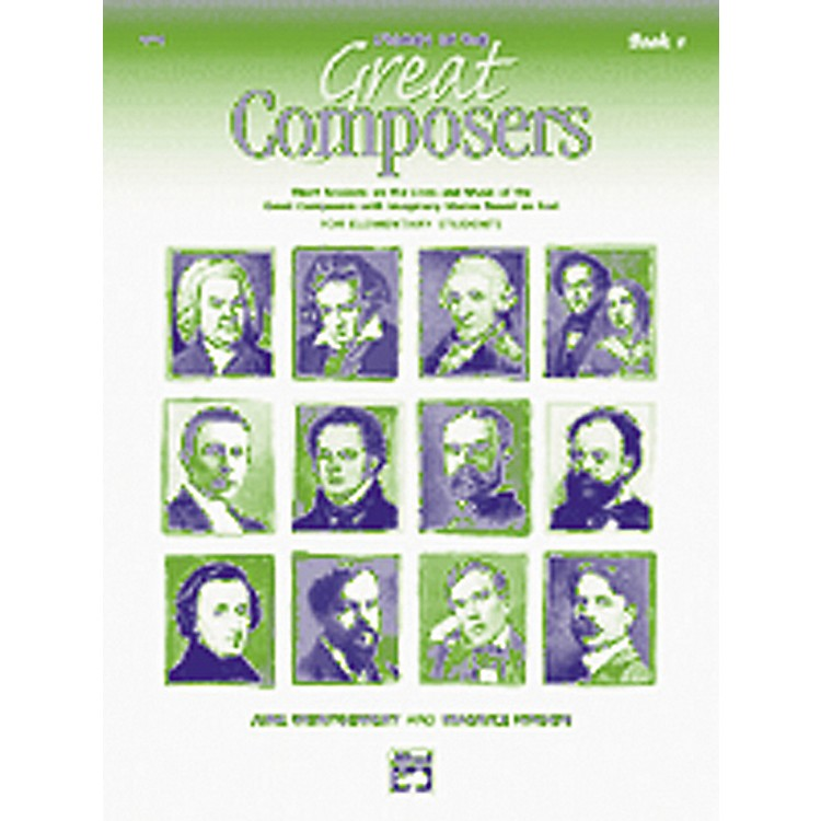 AlfredStories of Great Composers Book and CD