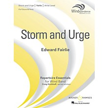 Boosey and Hawkes Storm and Urge Concert Band Level 5 Composed by Edward Fairlie
