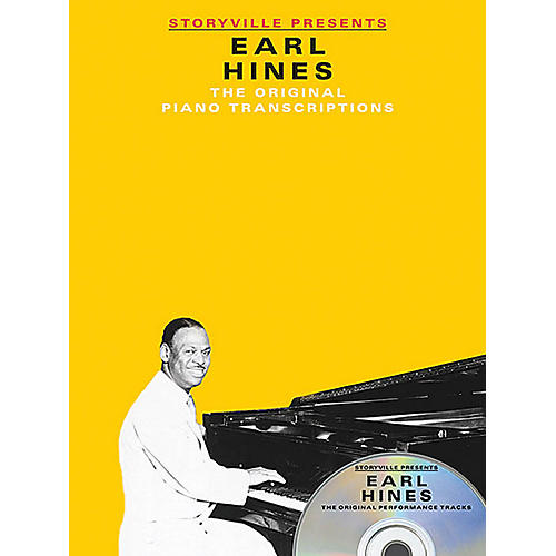 Music Sales Storyville Presents Earl Hines Artist Transcriptions Series Softcover with CD Performed by Earl Hines-thumbnail