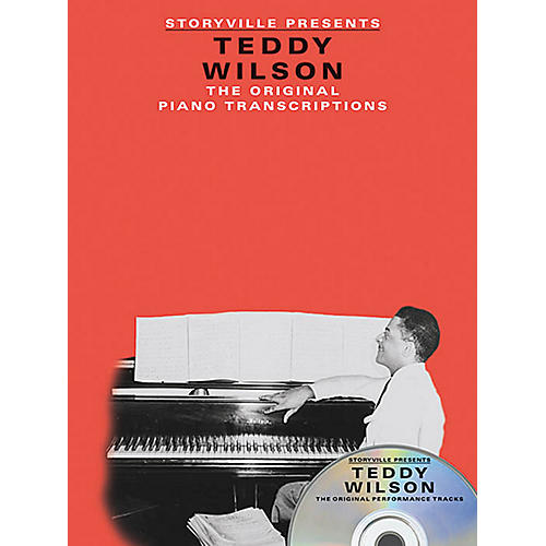 Music Sales Storyville Presents Teddy Wilson Artist Transcriptions Series Softcover with CD Performed by Teddy Wilson-thumbnail