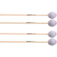 Malletech Stout Marimba Mallets Set of 4 (2 Matched Pairs)