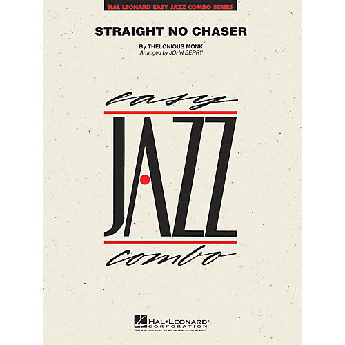 Hal Leonard Straight No Chaser Jazz Band Level 2 by Thelonious Monk Arranged by John Berry-thumbnail