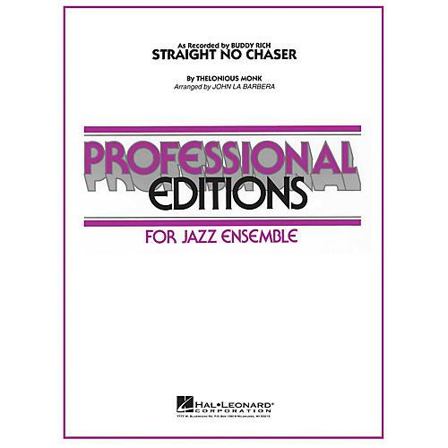 Hal Leonard Straight No Chaser Jazz Band Level 5-6 Arranged by John La Barbera-thumbnail