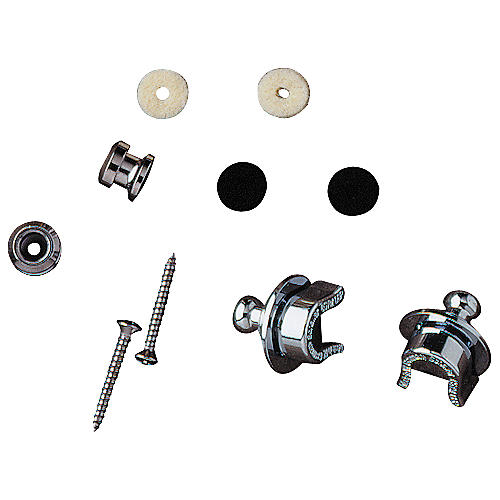 Fender Strap Locks and Buttons Set