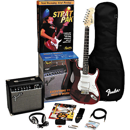 Fender Strat Electric Guitar Pak