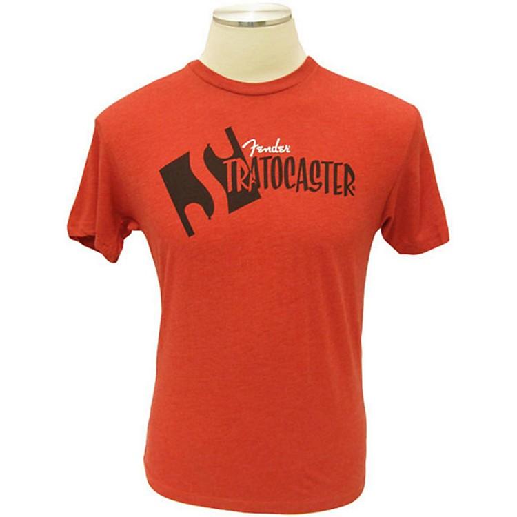 FenderStrat Headstock T-ShirtRedLarge