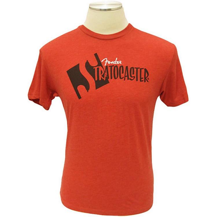 FenderStrat Headstock T-ShirtRedSmall