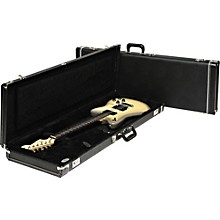 Fender Strat/Tele Hardshell Case Black Black Plush Interior