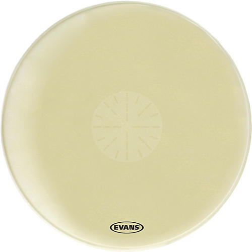Evans Strata 1000 Orchestral-Bass Drumhead with Power Center Dot