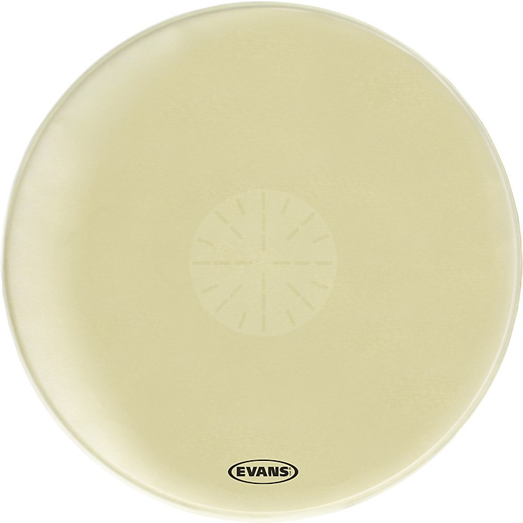 Evans Strata 1400 Orchestral-Bass Drumhead with Power Center Dot  36 Inch