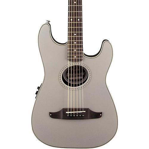 Fender Stratacoustic Plus Acoustic-Electric Guitar Inca Silver
