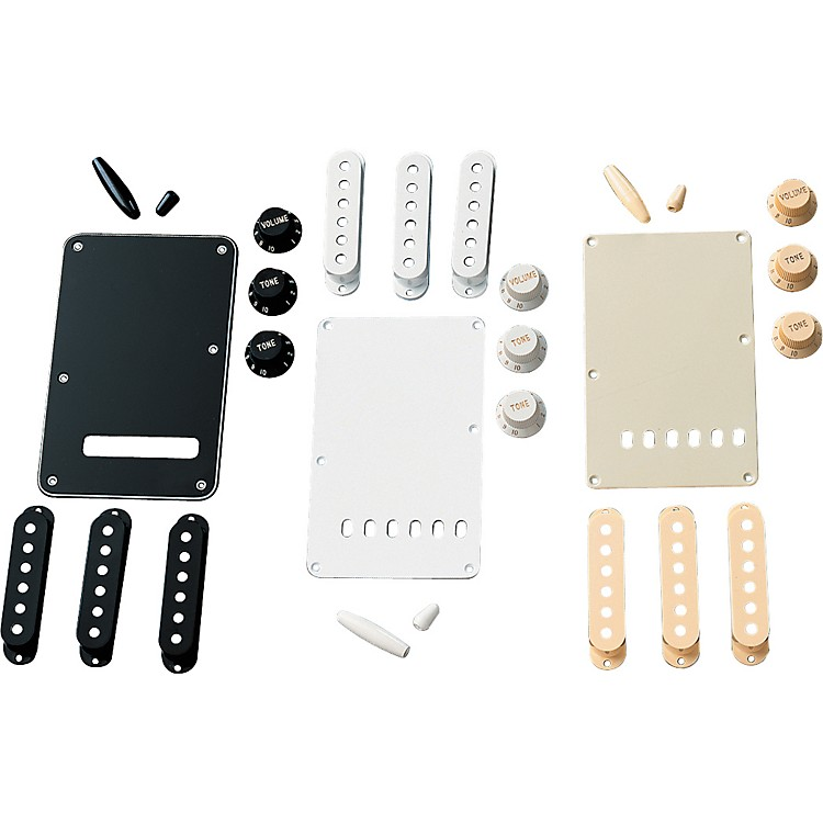 Fender Stratocaster Accessory Kit Parchment