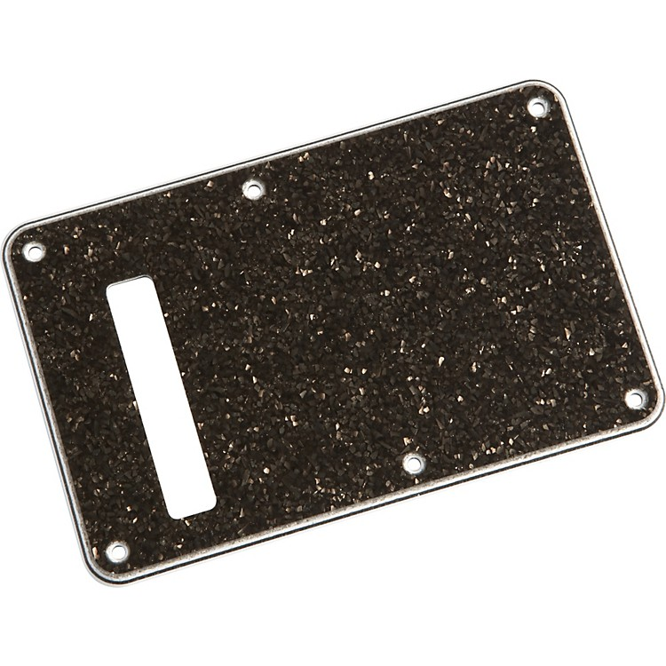 FenderStratocaster Backplate Black Glass Sparkle