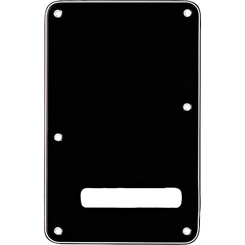 Fender Stratocaster Backplate Black
