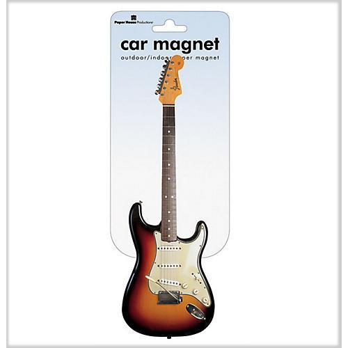 Fender Stratocaster Car Magnet