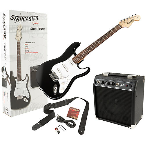 Fender Starcaster Stratocaster Electric Guitar Value Pack