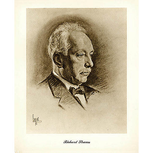 Music Sales Strauss (Lupas Large Portrait Poster) Music Sales America Series-thumbnail