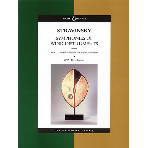 Boosey and Hawkes Stravinsky - Symphonies of Wind Instruments Boosey & Hawkes Scores/Books Series by Igor Stravinsky-thumbnail